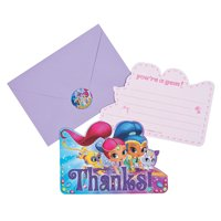 Nickelodeon(TM) Shimmer & Shine(TM) Thank You Cards
