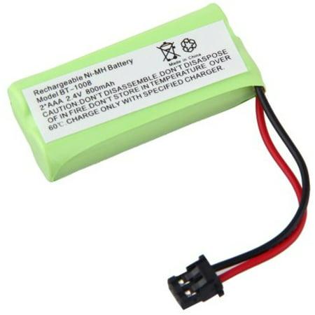 ELEOPTION(TM) Cordless Phone Battery 2.4 Volt, Ni-MH 800mAh - Replacement For UNIDEN BT-1008, BT-1016 Uniden BT1021 Uniden BBTG0645001 Uniden DCX200, DECT 2060 BT-1008 BT-1008S, BT1