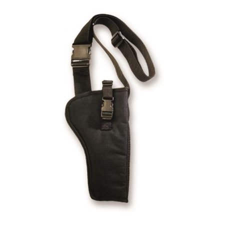 Bulldog Cases Right Hand Bandolier Holster, Black, Medium