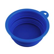 New Collapsible Dog Cat Pet Silicone Travel Feeding Bowl Water Dish Feeder