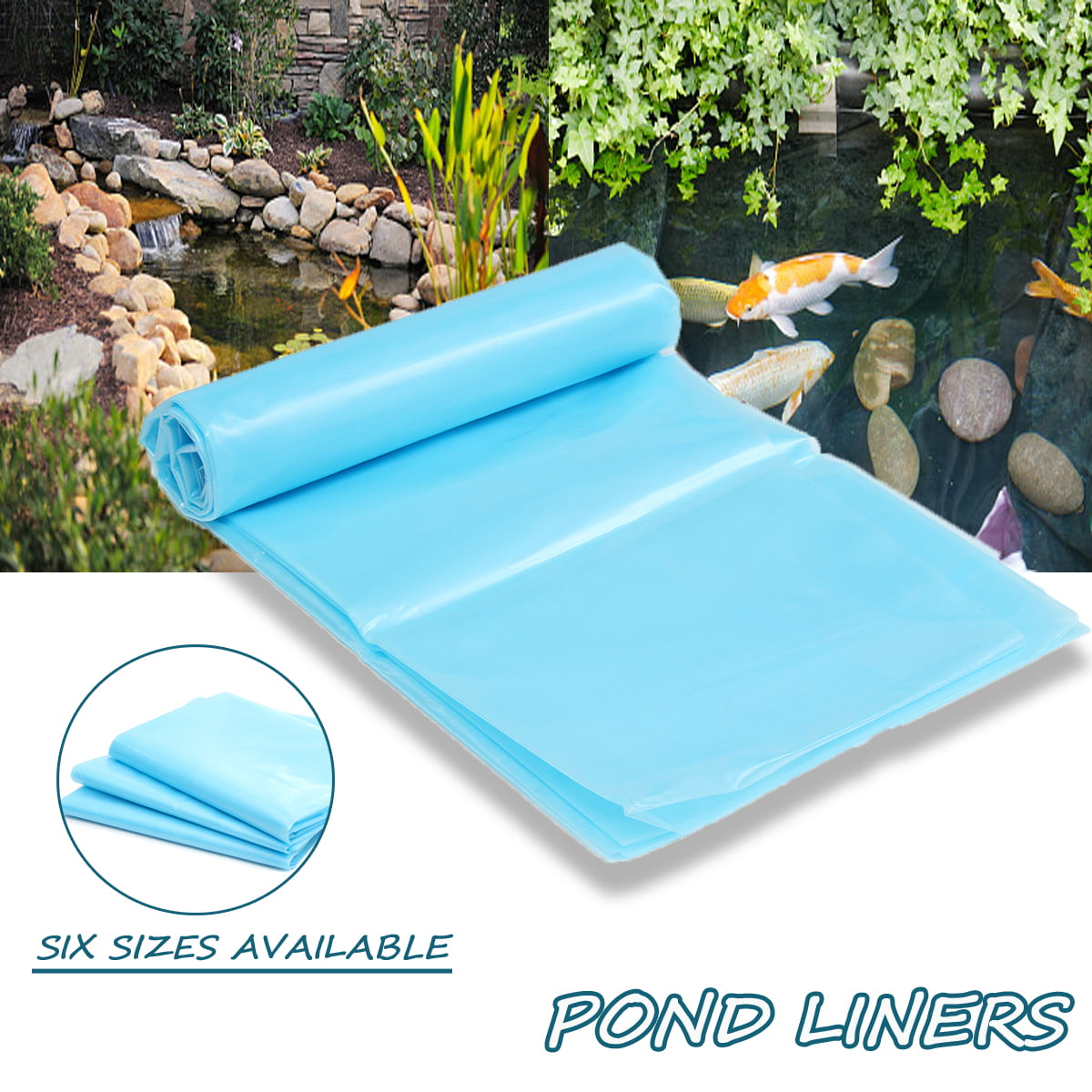 Durable Fish Pond Liner Gardens & Patio Pools PEMembrane