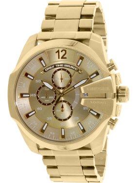 08646efad Product Image Men's DZ4360 Gold Stainless-Steel Quartz Fashion Watch