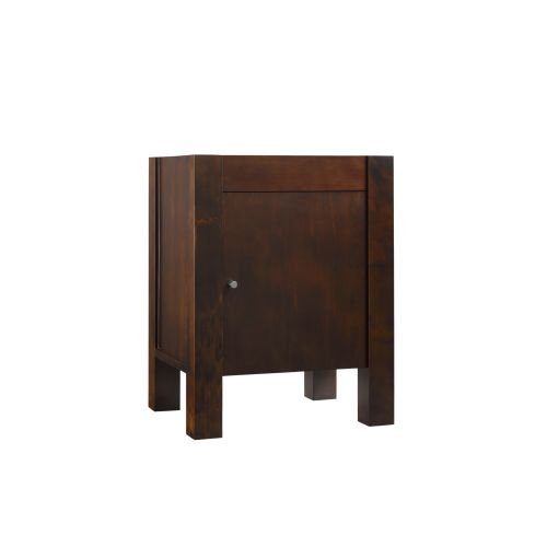 "Ronbow 032523-3 Devon 23"" Hardwood Vanity Cabinet Only with Single Hardwood Door"