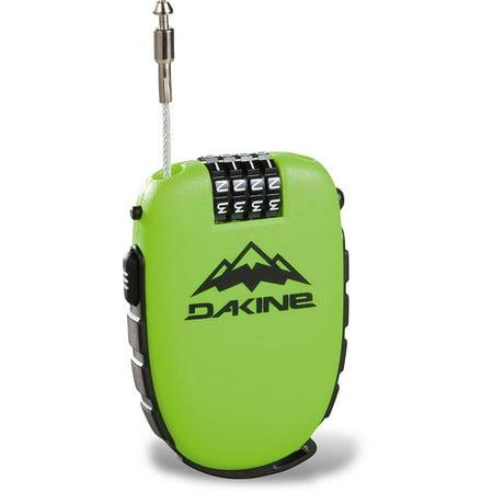Dakine Unisex Retractable Cable Combination Cool (Best Retractable Bike Lock)