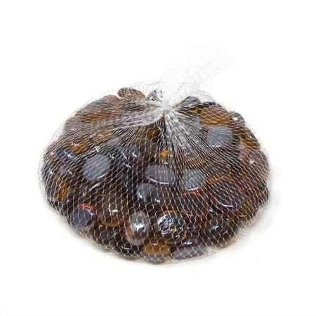 Glass Marble Gems Vase Filler 1.1 LB Bag, - Vase Gems