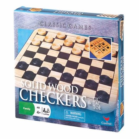 Solid Wood Checkers and (Solid Wood Checkers)