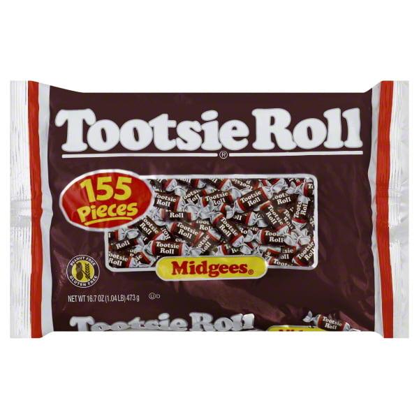 Tootsie Roll Tootsie Roll  Midgees, 155 ea