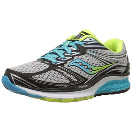 Details about Saucony De las mujeres Guide 9 Running Shoes Sneakers, GreyBlueCitron, 6 Narrow US