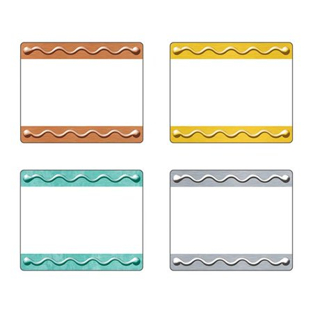 Trend Enterprises T-68911BN 2.5 x 3 in. I Love Metal Embossed Terrific Labels, Pack of 3 - image 1 of 1