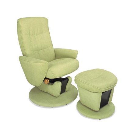 Mac Motion Relax R Leaf Fabric Swivel Glider Recliner With