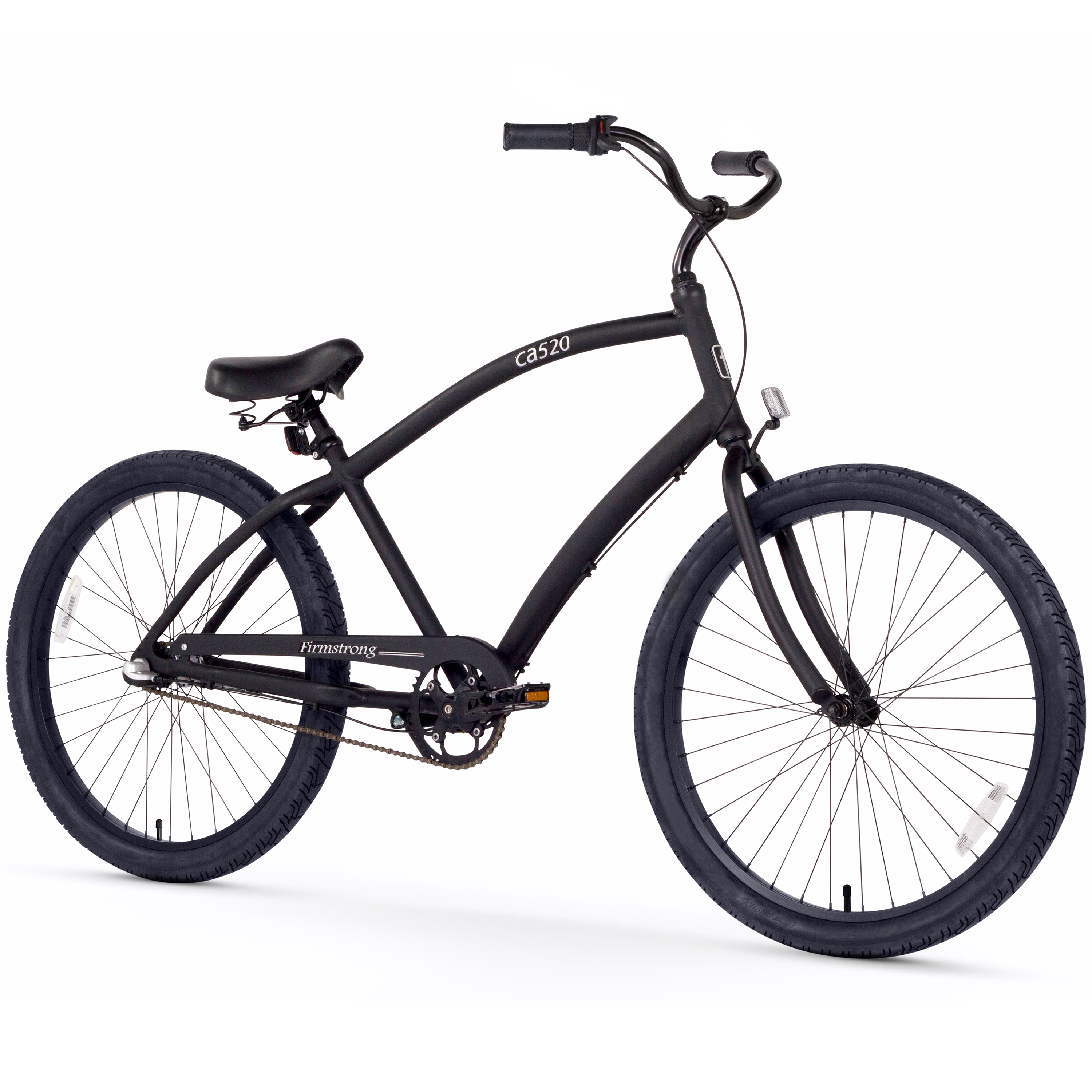 "Firmstrong 26"" Men's CA-520 Alloy Beach Cruiser Bicycle, 3 and 7 Speed"