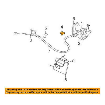dodge chrysler oem b2500 cruise control system-vacuum hose connector  53030008 - walmart com