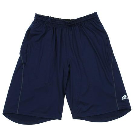 adidas men's climalite shorts, navy