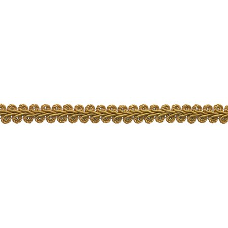 "10 Yard Value Pack of 1/2"" Basic Trim French Gimp Braid, Style# FGS Color: GOLD - C4 (30 Ft / 9.1 Meters)"