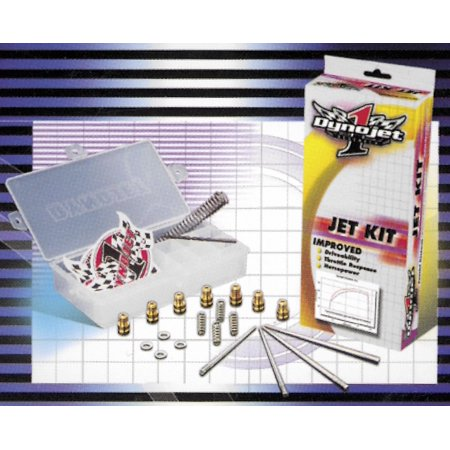 Dynojet Research Q702 Jet Kit - Stage 1 and 3 Jet Kit Stage