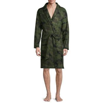 Sahara Club Mens Polar Fleece Robe