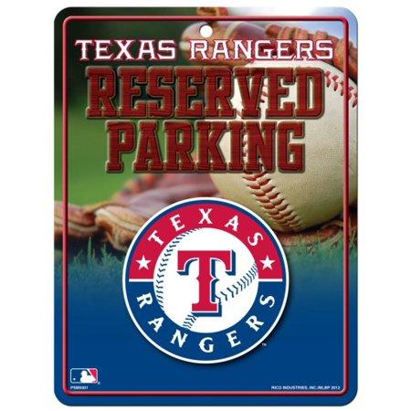 Texas Rangers Metal Parking Sign - image 1 de 1