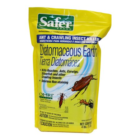 Safer brand diatomaceous earth bed bug ant and crawling - How to use diatomaceous earth in the garden ...