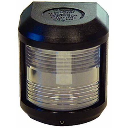 Aqua Signal 41500 Series 41 Navigation Light for Power or Sail Direct Mounting, Stern Side Mount, Black