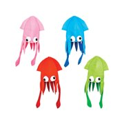 Novelty Assorted Color Squid Hat Costume Party Hat Cap