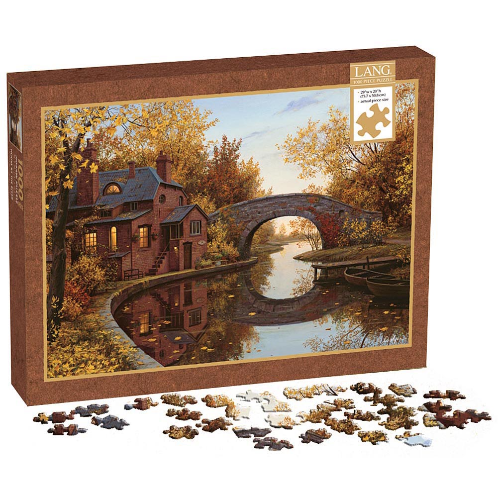 House By The River 1000 Piece Puzzle