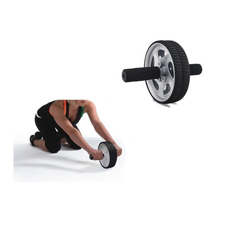 Ab Wheel With Foam Grip Handles Specially Designed For Sport Lovers