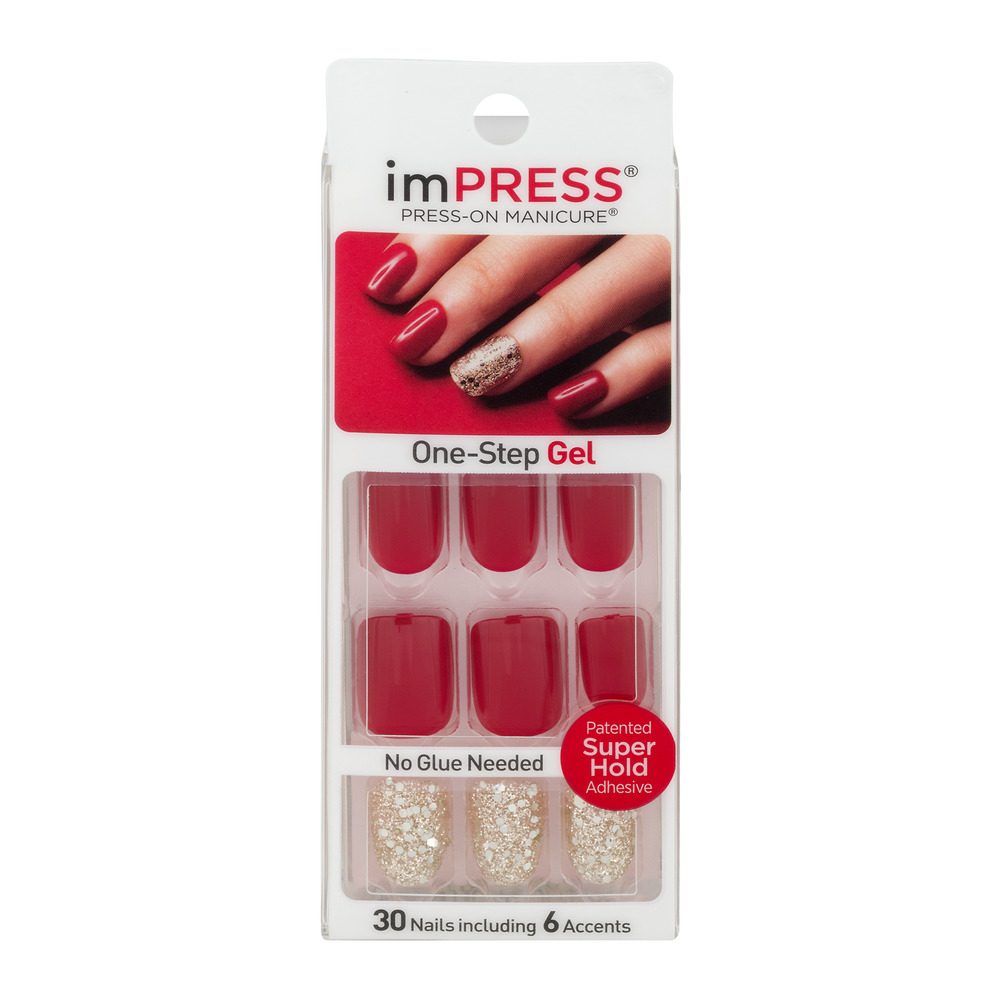 imPRESS Press-On Manicure One-Step Gel Tweetheart - 30 CT