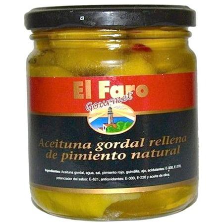 Gordal Pimento Stuffed Olives By El Faro 12