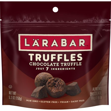 Gluten Free Chocolate (Larabar Truffles, Gluten Free, Chocolate, 5.3 oz Bag)