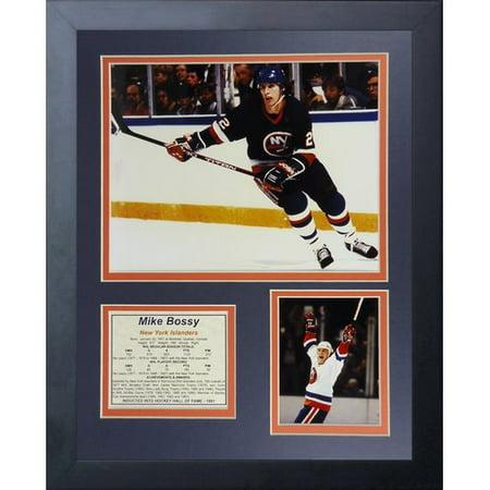 Legends Never Die Mike Bossy - New York Islanders Framed Memorabilia