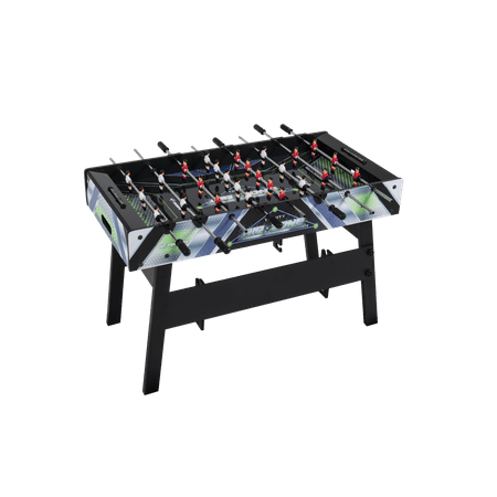 Triumph 2 in 1 Air Zone Air Hockey Foosball Combination Game Table with Quick Connect - 2in 1 Plug In Game