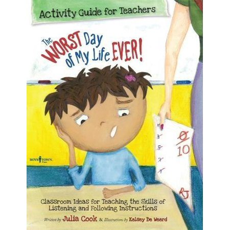 Best Me I Can Be: The Worst Day of My Life Ever! Activity Guide for Teachers (Paperback)