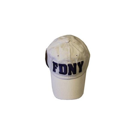 FDNY Junior Kids Baseball Hat Fire Department of New York Khaki One Size