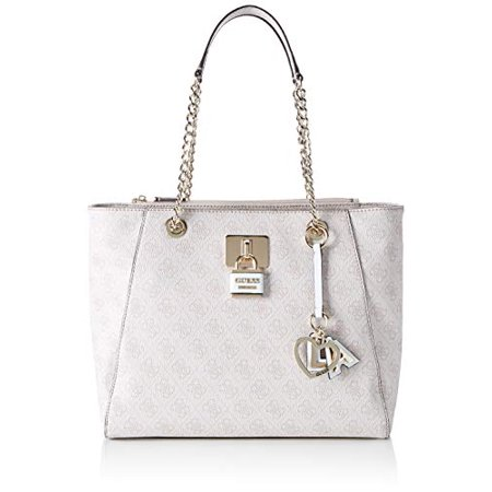 GUESS Downtown Cool Tote, stone