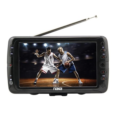 Naxa Electronics Nt-70 7″ Portable Tv & Digital Multimedia Player