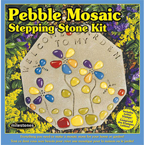 Milestones Pebble Mosaic Stepping-Stone Kit