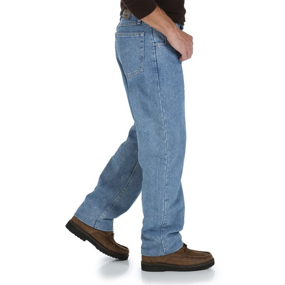 6c396075166 Wrangler - Wrangler Big Men's Relaxed Fit Jean - Walmart.com