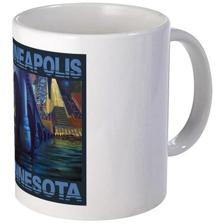 Mn Cup - CafePress - MINNEAPOLIS MN: Mug - Unique Coffee Mug, Coffee Cup CafePress