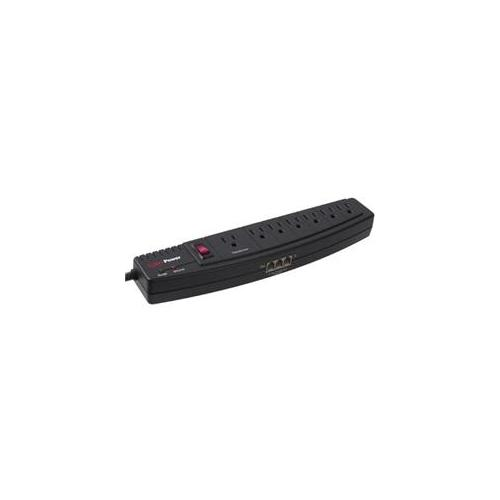 CyberPower 750 7-Outlet Home Office Surge Suppressor (1250 Joules Black)