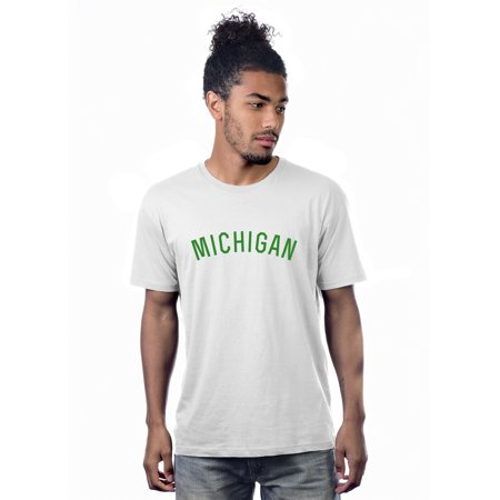Daxton Premium Basic Crew Neck Short Sleeve Tshirt Cities Michigan  (Outlet Stores Michigan City)
