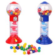 """10.5"""" Spiral Gumball Machine - Dubble Bubble Spiral Style Fun Gumball Bank  - 1 Piece Color May Vary"""