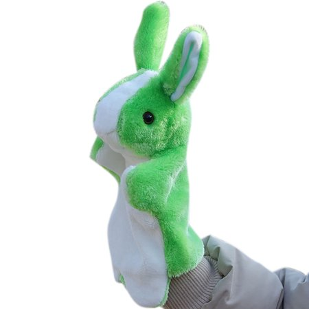 Cute Cartoon Animal Doll Kids Glove Hand Puppet Rabbit Plush Bunny Finger Toys Finger Puppet Plush Toy