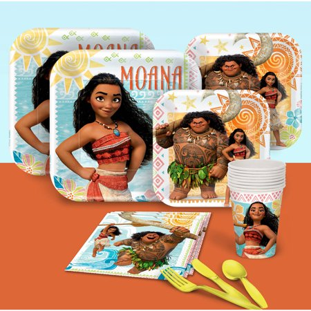 Disney Moana Party Pack For 8