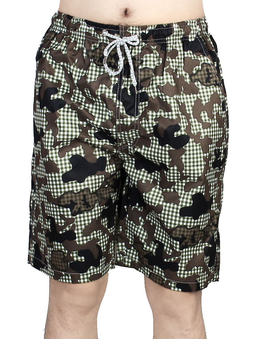 Men Summer Diving Surfing Beach Boxer Shorts Swimwear Swim Trunks