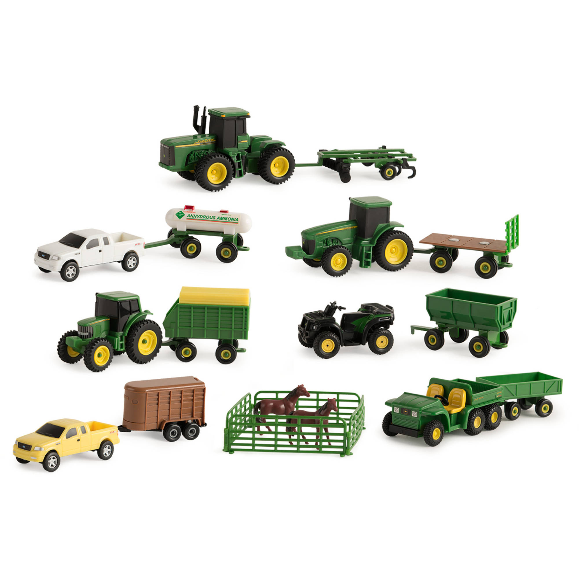 ERTL 1:64 John Deere Vehicle Value Set