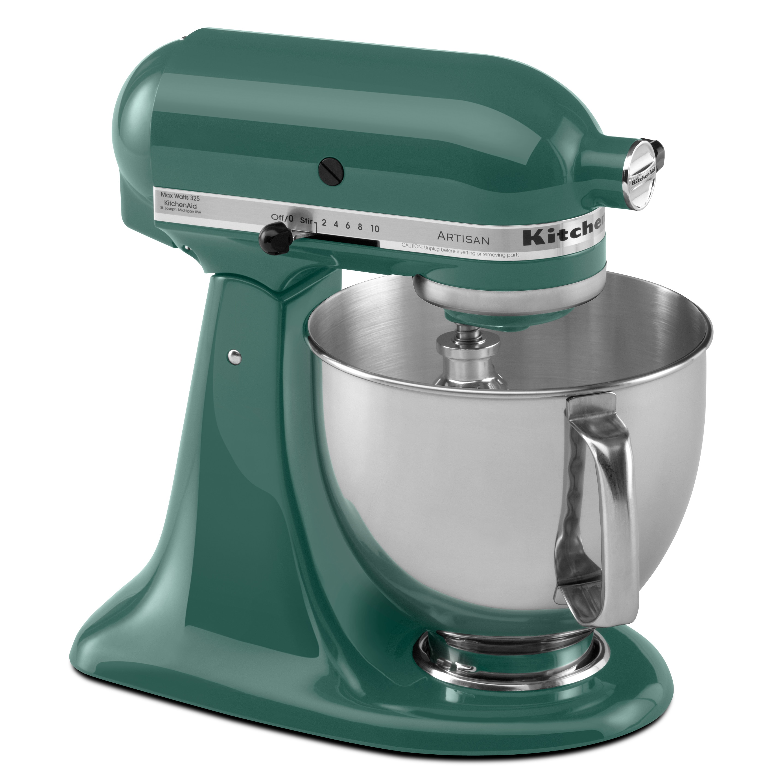KitchenAid KSM150PSBL 5 Qt. Artisan Series Stand Mixer - Bay Leaf ...
