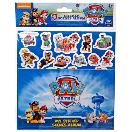 Paw Patrol Sticker Scenes Album Set