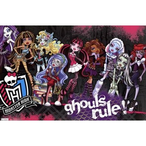 Monster High - Ghouls Rule Poster Print (36 x 24)