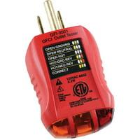 GB Gardner Bender GFI-3501 GFCI Outlet Tester