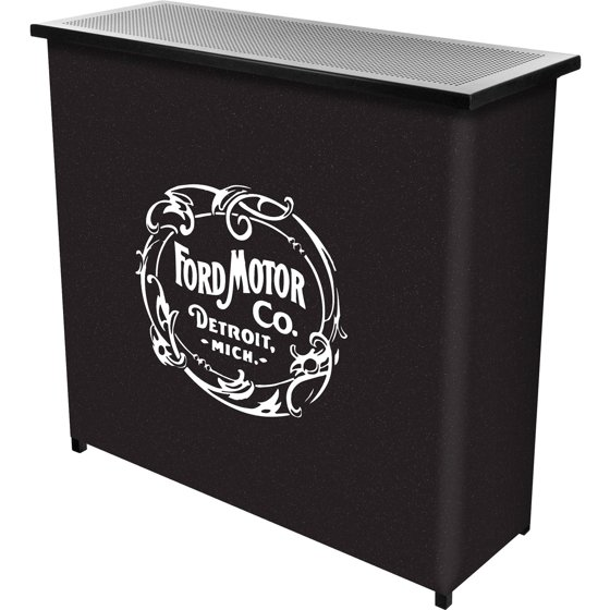 Ford portable bar with case vintage 1903 ford motor co for Ford motor company credit card